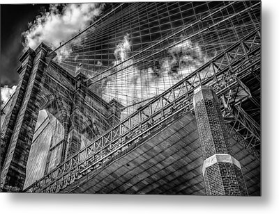 Brooklyn's Finest Metal Print by Linda Karlin