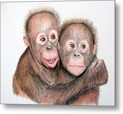 Brotherly Love Metal Print by Mary Mayes