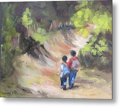 Brotherly Love Metal Print by Susan Richardson