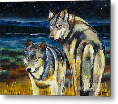 Brothers Metal Print by Harriet Peck Taylor