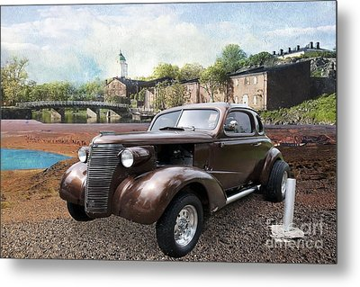 Metal Print featuring the photograph Brown Classic Collector by Liane Wright