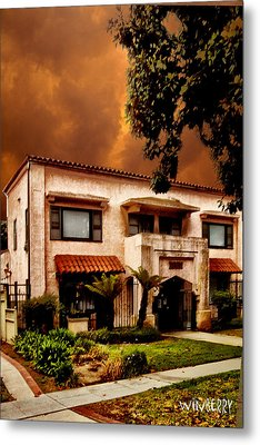 Brown House 2 Metal Print by Bob Winberry