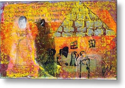 Brown House No. 4 Metal Print