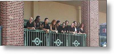 Bruce And The E Street Band In Ap Metal Print