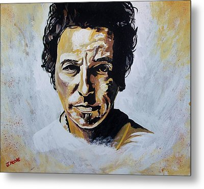 Bruce Springsteen Metal Print by Jeremy Moore