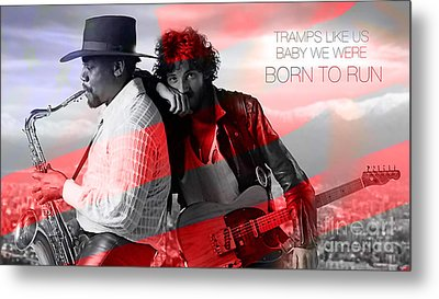 Bruce Springsteen Metal Print by Marvin Blaine