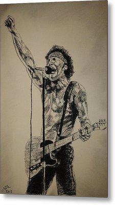 Bruce Springsteen Metal Print by Tim Brandt