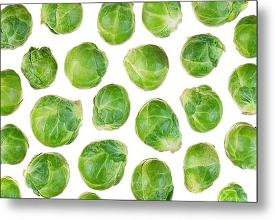 Brussels Sprouts Metal Print by Jim Hughes