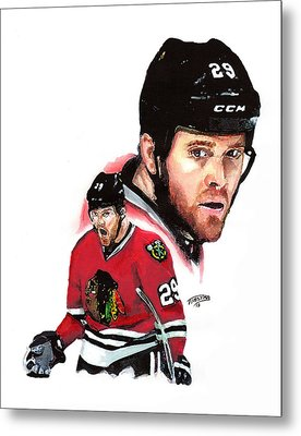 Bryan Bickell Metal Print by Jerry Tibstra