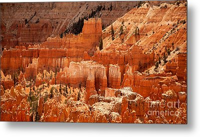 Bryce Canyon Landscape Metal Print by Jane Rix