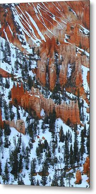 Bryce Canyon Series Nbr 22 Metal Print