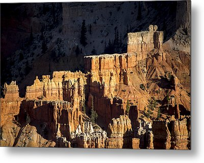 Bryce Canyon Steps Metal Print by Dave Cleaveland