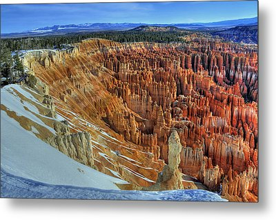 Metal Print featuring the photograph Bryce Canyon Sunrise by Dan Myers