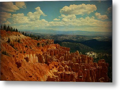 Bryce Canyon  Metal Print by Terry Eve Tanner