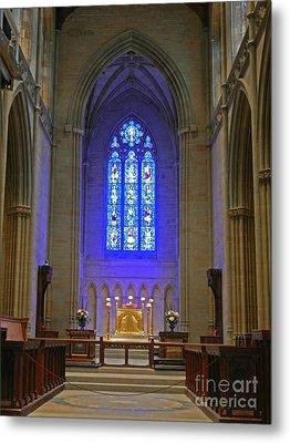 Bryn Athyn Cathedral Altar Metal Print