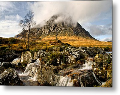 Buachaille Etive Mor Metal Print by Jacqi Elmslie