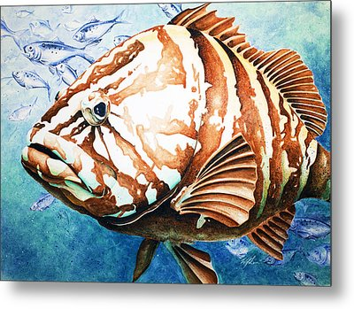 Bubba Metal Print by William Love