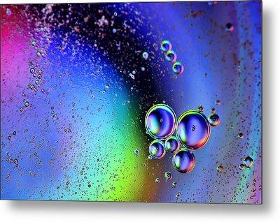 Bubbles Metal Print by EXparte SE