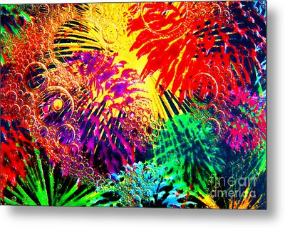 Metal Print featuring the photograph Bubbles by Geraldine DeBoer