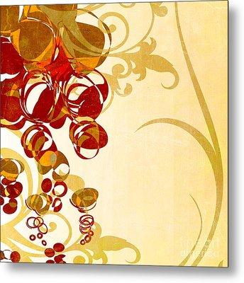 Bubbling Bubbles - 102br03 Metal Print