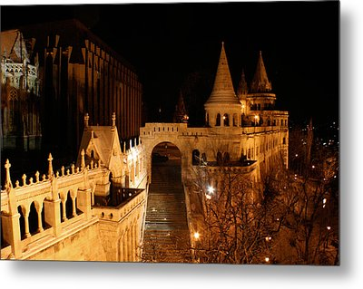 Metal Print featuring the photograph Budapest At Midnight by Jon Emery
