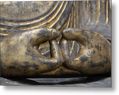Buddha 3 Metal Print by Lynn Sprowl