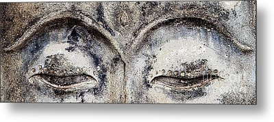 Metal Print featuring the photograph Buddha Eyes by Roselynne Broussard