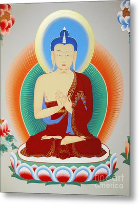 Buddha Maitreya Metal Print