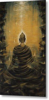 Buddha. Nirvana Ocean Metal Print