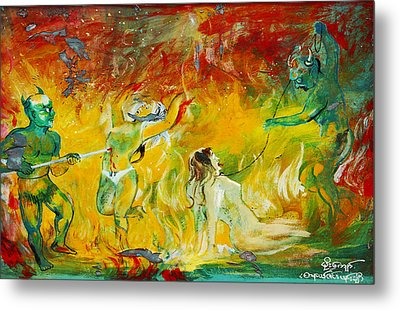 Buddhist Hell Metal Print by RicardMN Photography