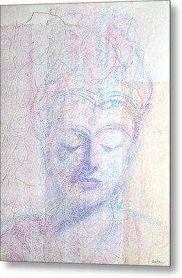 Buddhist Queen Of Long Ago Metal Print