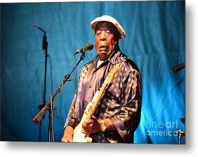 Buddy Guy 2 2012 Metal Print by Amanda Vouglas