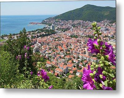 Budva, Montenegro. Overall View Metal Print