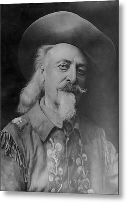 Metal Print featuring the photograph Buffalo Bill Cody by Charles Beeler