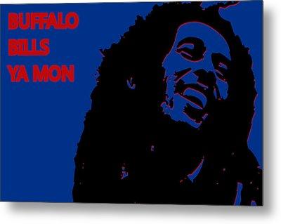 Buffalo Bills Ya Mon Metal Print by Joe Hamilton