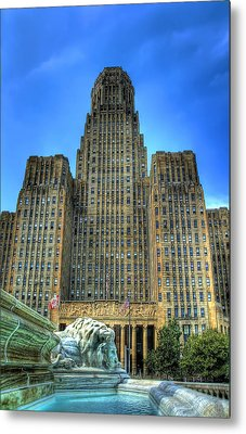 Buffalo City Hall Metal Print