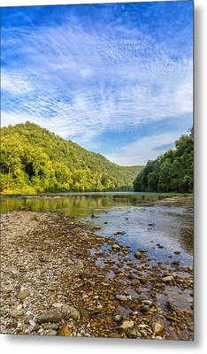 Buffalo River Details Metal Print by Bill Tiepelman