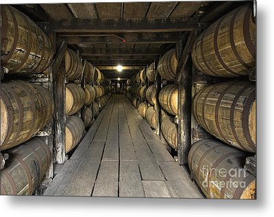 Buffalo Trace Rick House - D008610 Metal Print by Daniel Dempster