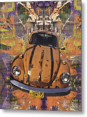 Bug Love Metal Print by Bruce Stanfield
