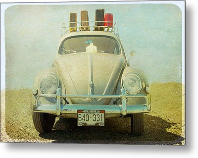 Bug On A Trip Metal Print