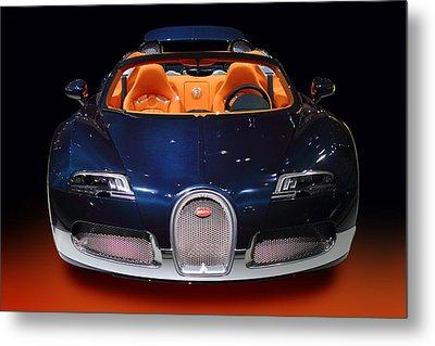 Bugatti Luxury Sport Car Metal Print