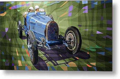 Bugatti Type 35 Metal Print by Yuriy Shevchuk