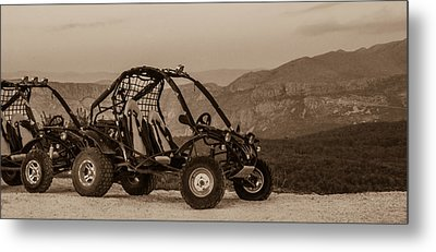 Metal Print featuring the photograph Buggy by Silvia Bruno