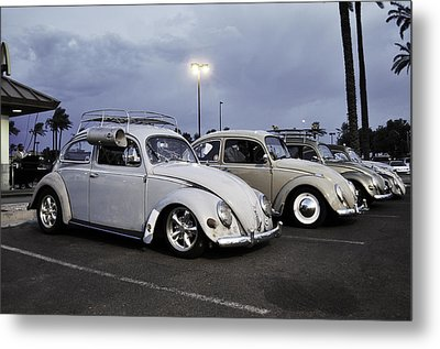 Bugs Night Out Metal Print by Rob Weisenbaugh