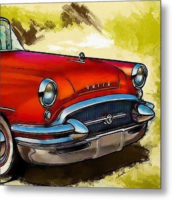 Buick Automobile Metal Print