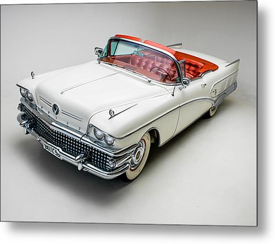 Buick Limited Convertible 1958 Metal Print by Gianfranco Weiss