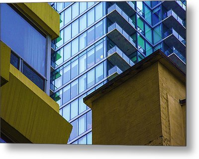 Building Abstract No.1 Metal Print