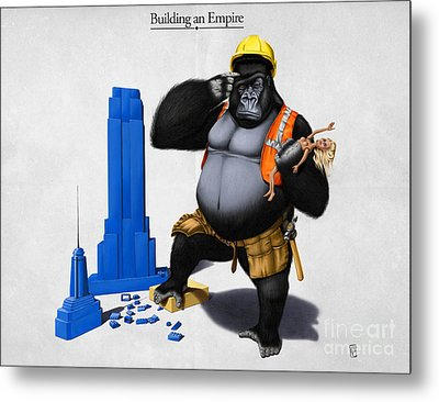 Building An Empire Metal Print by Rob Snow