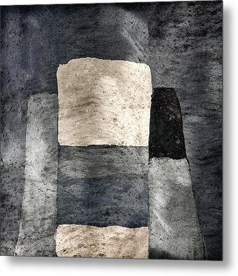 Building Blocks Metal Print by Carol Leigh