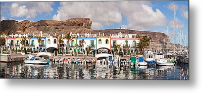 Buildings At The Waterfront, Puerto De Metal Print by Panoramic Images